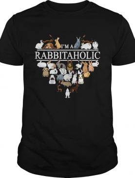 I'm a Rabbit a holic shirt