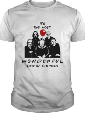 Its the most wonderful time of the year Horror character movie shirt