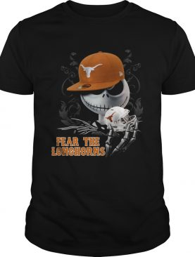 Jack Skellington Fear The Longhorns Shirt