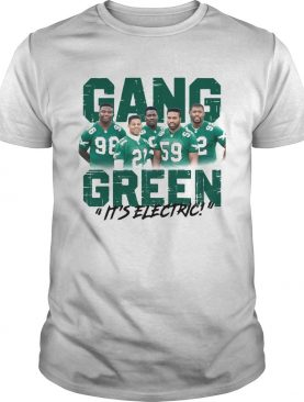 Jalen Mills Gang Green its electric shirt
