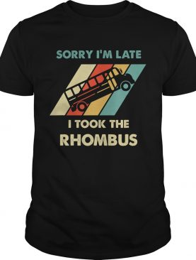 Math Shirts I Took The Rhombus Funny Math Nerd TShirt