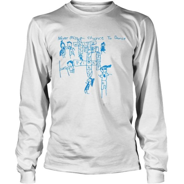 Never Miss a Chance to Dance Crossword puzzle  LongSleeve