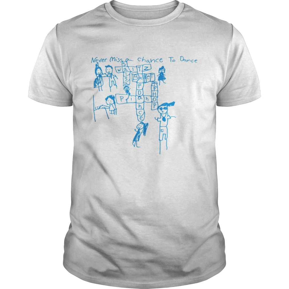 Never Miss a Chance to Dance Crossword puzzle Unisex