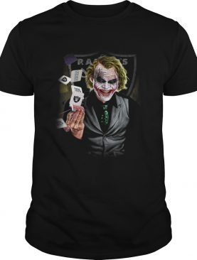 Oakland Raiders Joker Poker Shirt