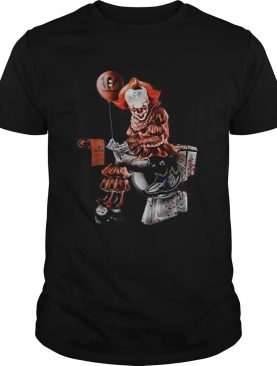Pennywise Cincinnati Bengals Cleveland Browns Pittsburgh Steelers and Baltimore Ravens toilet shirt