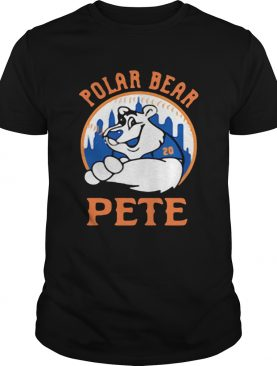 Pete Alonso New York Mets Polar bear Pete shirt