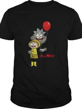 Rick and Morty IT and Morty Halloween shirt