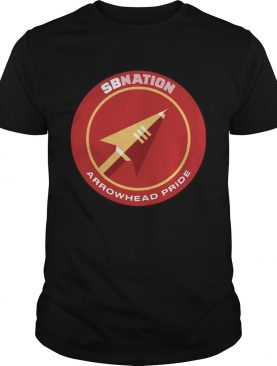 SB Nations Arrowhead Pride T Shirt