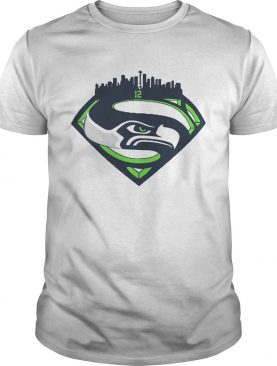 Seattle Seahawks Superman 12 Shirt