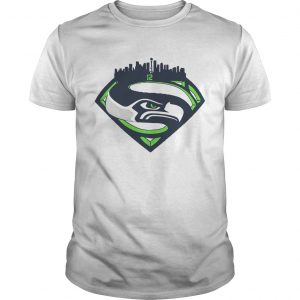 Seattle Seahawks Superman 12 Shirt Unisex