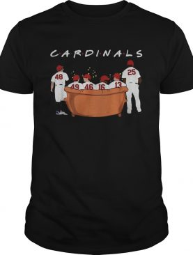 St Louis Cardinals Friends TV Show shirt