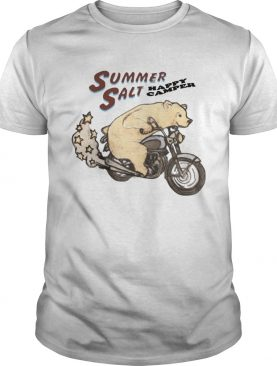 Summer salt merch happy camper bear t shirt
