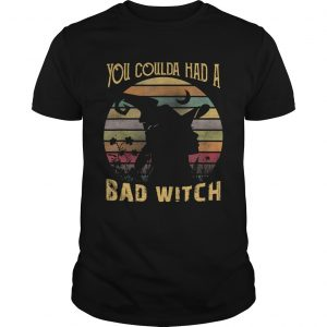 You Coulda had a Bad Witch Halloween Funny Gift Awesome TShirt Unisex