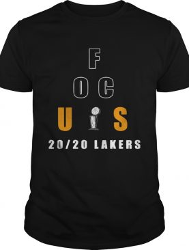 Anthony Davis Focus 20_20 Lakers shirt