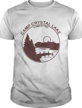 Backside Camp Crystal Lake Summer 1980 For T Shirt