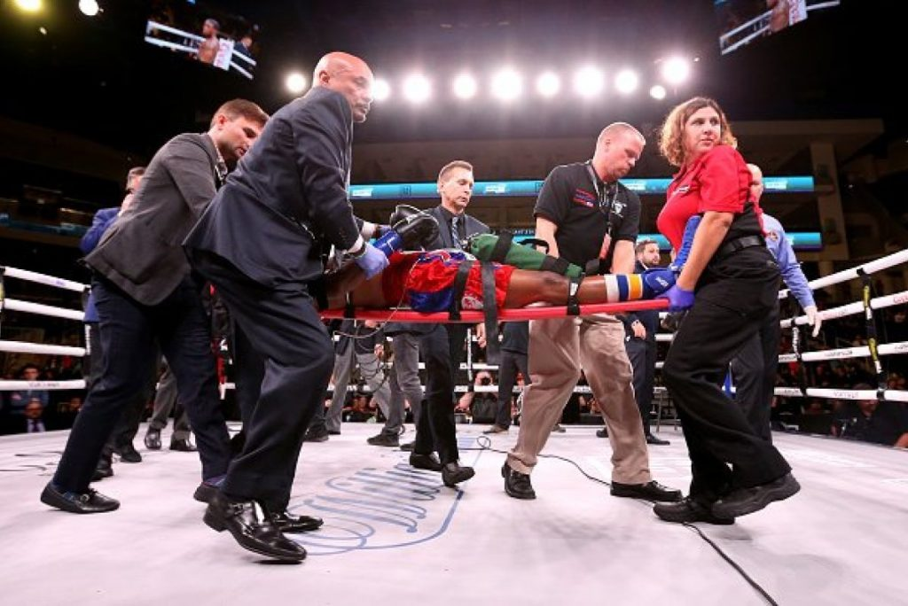Boxer Patrick Day dies four days after being knocked out