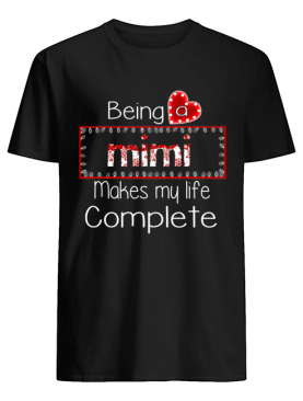 Christmas Being A Mimi Makes My Life Complete T-Shirt