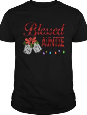 Christmas Blessed To Be Called Auntie TShirt