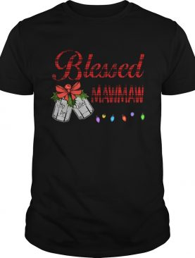 Christmas Blessed To Be Called Mawmaw TShirt