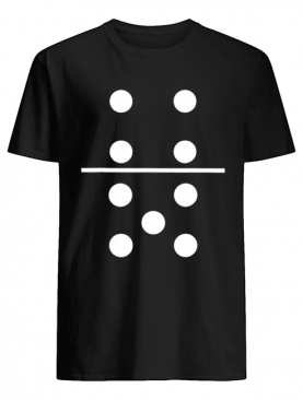 Domino 4 and 5 Matching Halloween Group Costumes 4-5 shirt