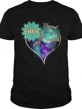 Dragonfly Blessed To Be Called Yaya TShirt