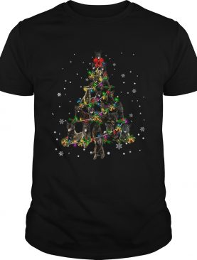 Dutch Shepherd Christmas Tree TShirt