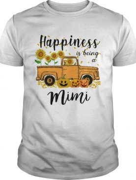 Halloween Car Pumpkin Happiness Is Being A Mimi TShirt