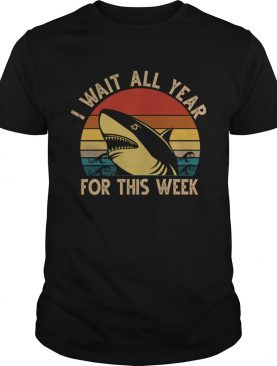 Hark I Wait All Year For This Week Vintage TShirt