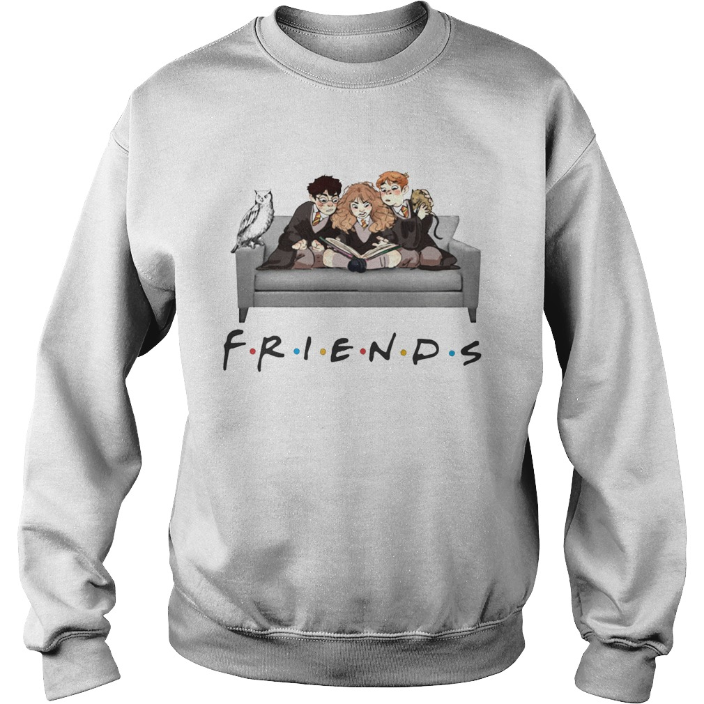 Harry Potter character Friends TV Show Sweatshirt
