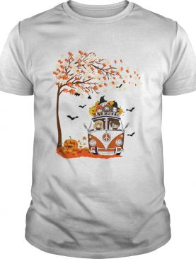 Harry Potter driving car autumn Halloween shirt