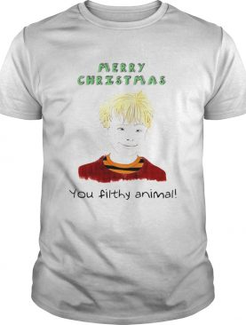 Home Alone You Filthy Animal Christmas Shirt