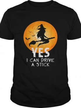 Hot Yes I Can Drive A Stick Halloween shirt