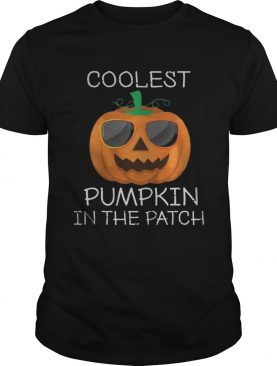 Kids Coolest Pumpkin In the Patch Halloween Costume Kids Gifts TShirt