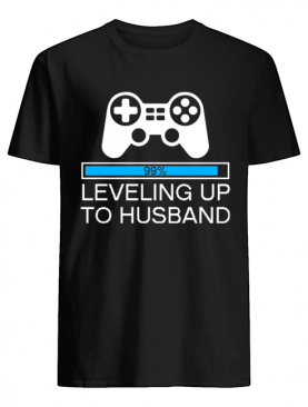 Leveling Up To Husband Groom Gamer WeddingT-Shirt