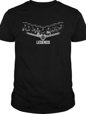 Los Angeles Kings Legends team signature shirt