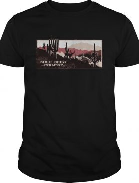 Mule deer country shirt