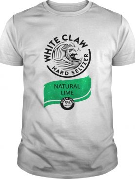 Nice White Claw Hard seltzer Natural Lime shirt L
