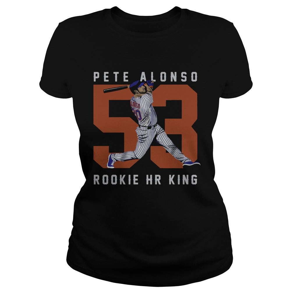 Official Pete Alonso Rookie Hr King Classic Ladies