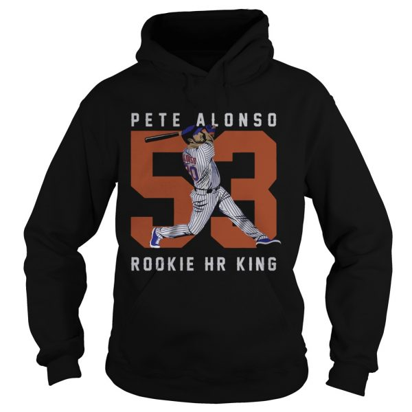 Official Pete Alonso Rookie Hr King  Hoodie