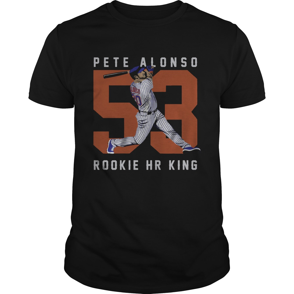 Official Pete Alonso Rookie Hr King Unisex