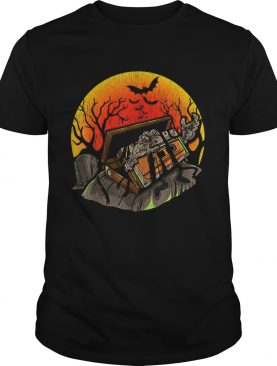 Retro Vintage creepy Zombie 80 90 Music Cassette Halloween shirt