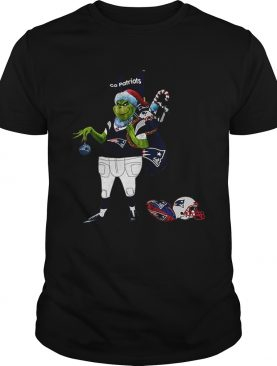 Santa Grinch New England Patriot Go Patriots shirt