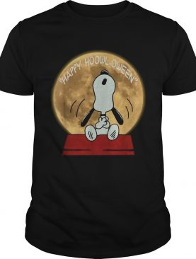 Snoopy happy hoowloween shirt