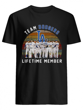 Team Los Angeles Dodgers lifetime member vintage shirt