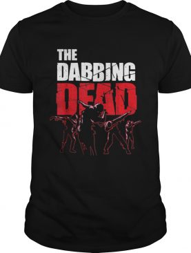 The Dabbing Dead Zombie Walking Dab Halloween Gift shirt