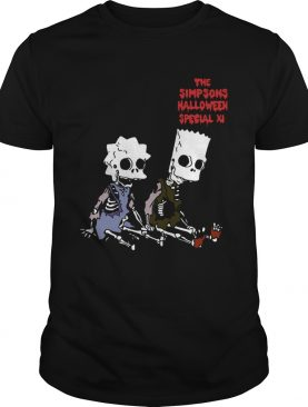 The Simpsons Halloween special XI shirt