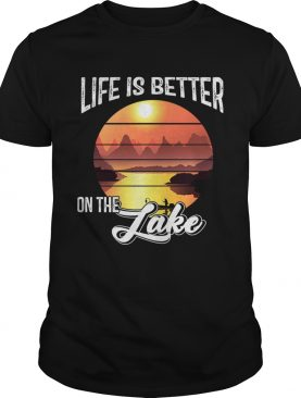 Vintage Life Is Better On The Lake TShirt