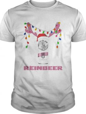 White Claw Black Cherry Reinbeer Light Christmas Shirt