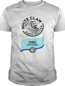 White claw hard seltzer Pure hard Seltzer shirt L
