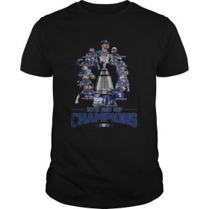 107th Grey Cup Blue Bombers Players Champions 2019  Unisex